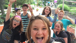 S Tweens fun at camp boys and girls