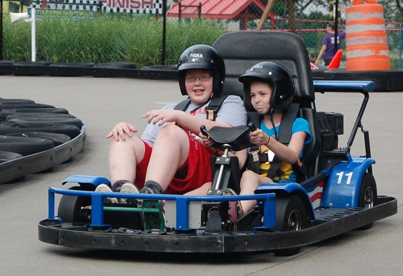 Go Karting boys!