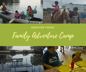 REGISTER TODAY FAMILY CAMP
